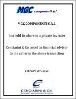 MGC Componenti
