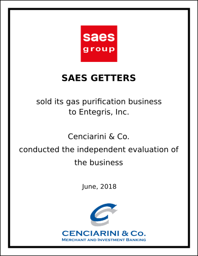 SAES Getters